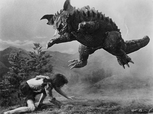 frankenstein vs. baragon screen